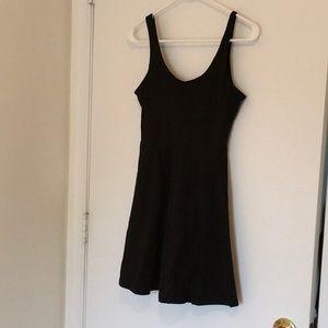 PINK short black dress